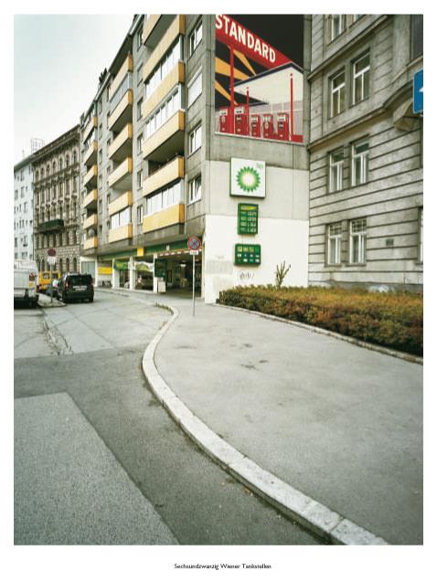 Stefan Olah - Sechsundzwanzig Wiener Tankstellen